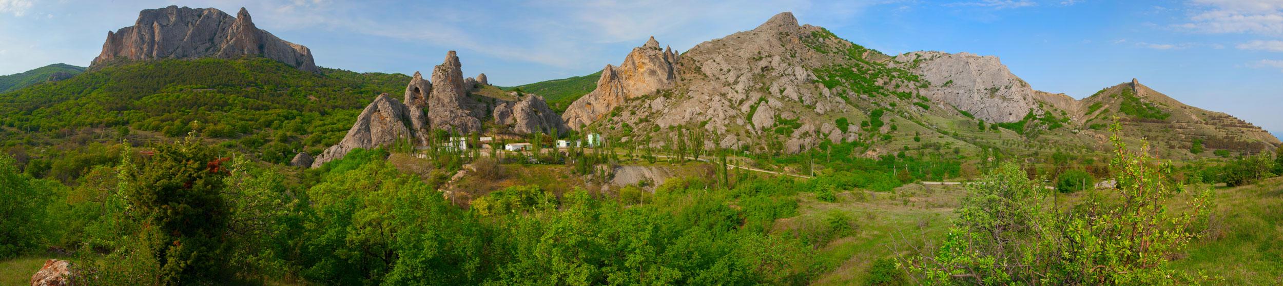 Панорама Крыма