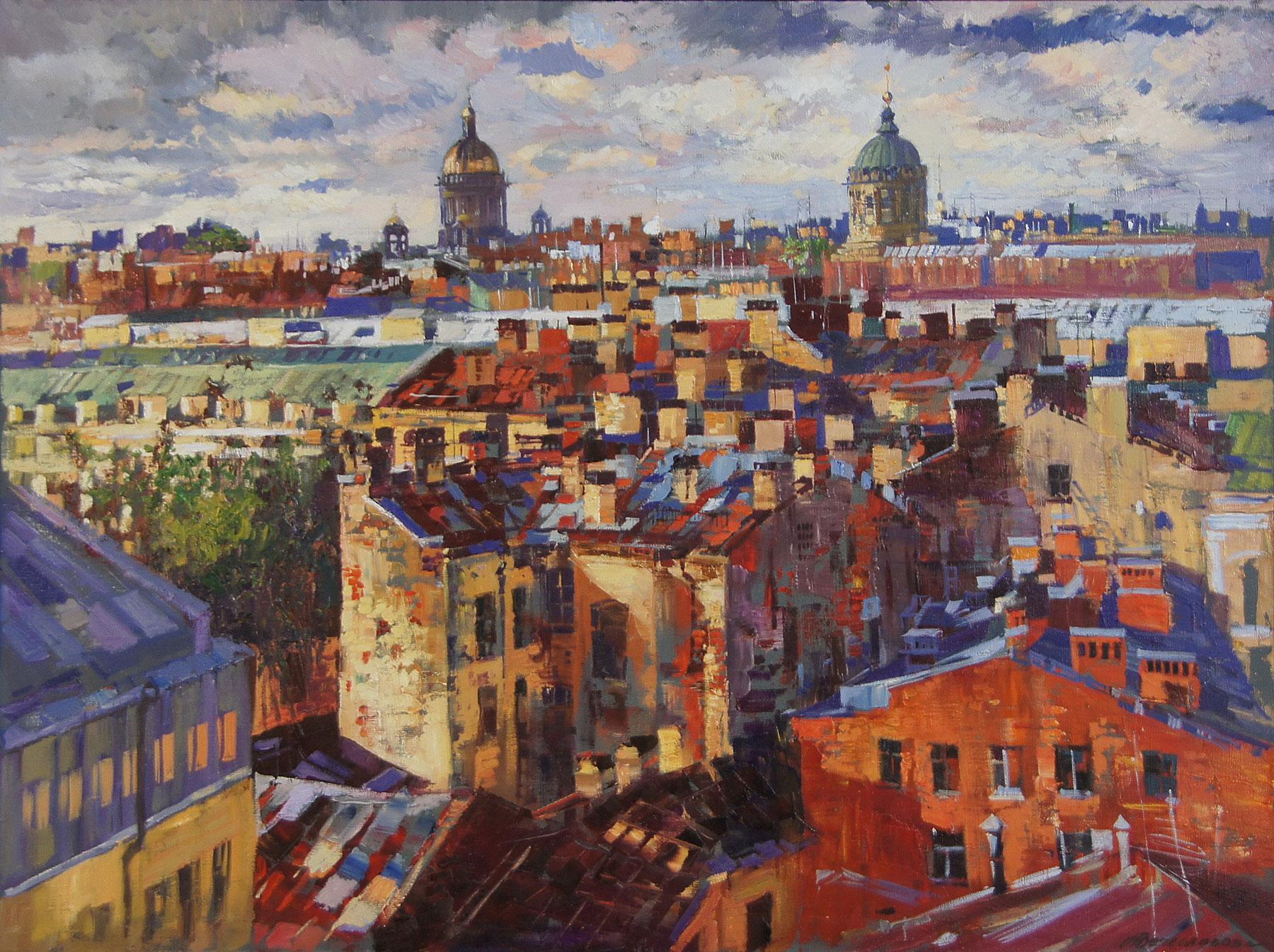 Над городом (Крыши Петербурга)